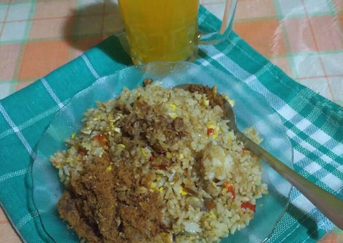 Nasi Goreng Abon Sapi