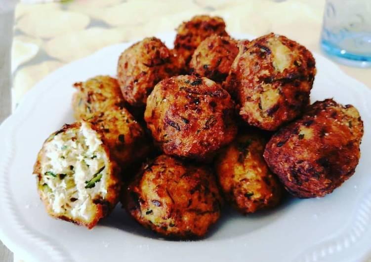 Ricetta Polpette di pane, zucchine e ricotta