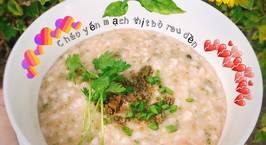 Hình ảnh món Cháo yến mạch thịt bò rau dền