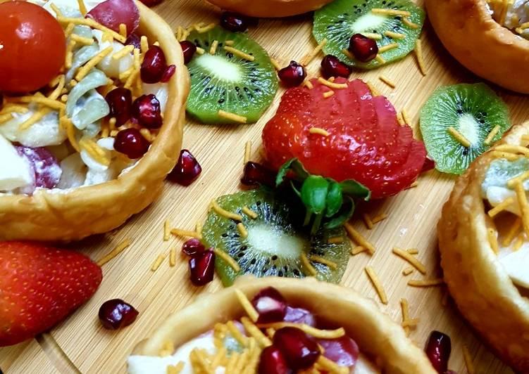 Katoori creamy fruit chaat #CookpadFruits