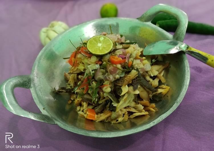 Tuna/tongkol suir sambal matah