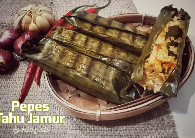 Pepes Tahu Jamur