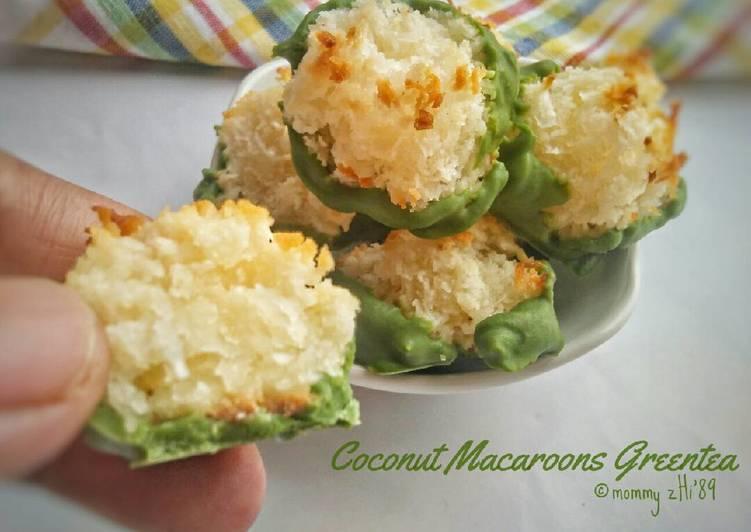 Coconut Macaroons Greentea