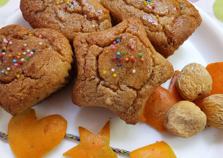Steps to Make Any-night-of-the-week Amaranth (Rajgira) cake with apricots & orange zest