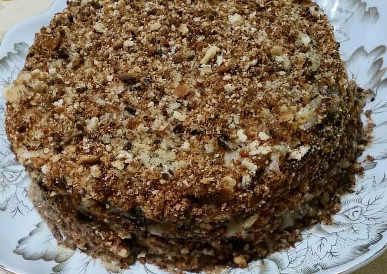 торт медовик ангарский рецепт с фото корпуса