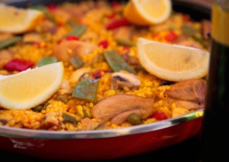 Step-by-Step Guide to Make Homemade Paella