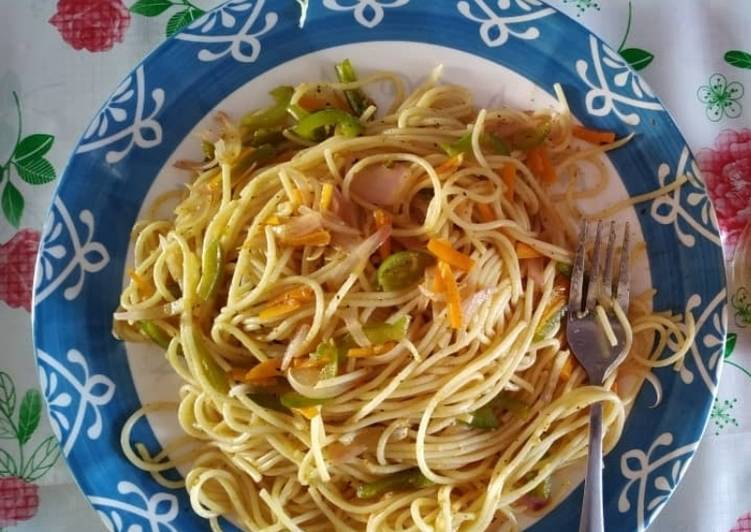 Easiest Way to Cook Perfect Veg.Noodles Recipe