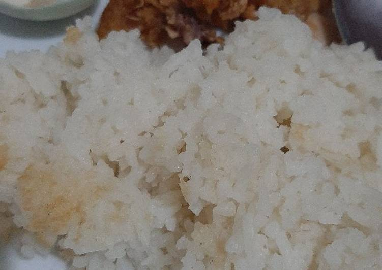 Resep Nasi uduk fiber creme rice cooker Bikin Jadi Laper