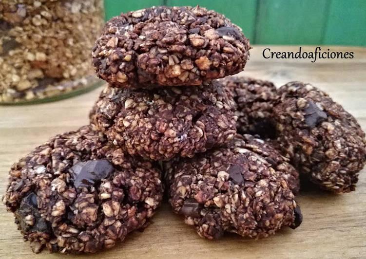 galletas de avena sin harina ni chocolate