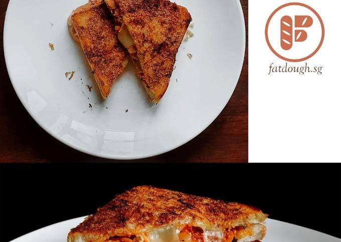 Steps to Prepare Award-winning Kimchi Grilled Cheese Sandwich