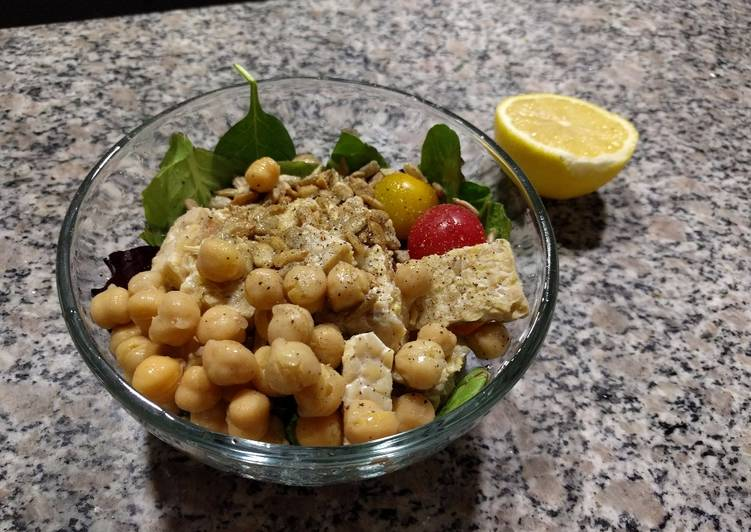 Recipe of Top-Rated Lemon tempeh salad