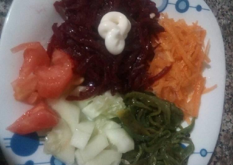 Comment Préparer Des Salade anti - cancer