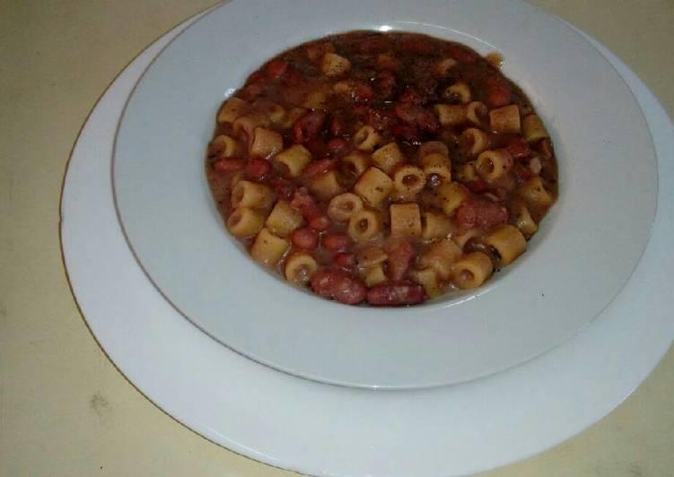 Step-by-Step Guide to Prepare Speedy Pasta e fagioli