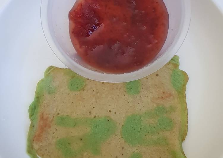 Banana Pancake Blender (resep anak 1 tahun +)