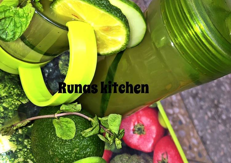 Cucumber drink Recipe By RuNas kitchen