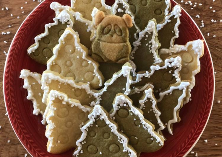 Flavorful butter cookies