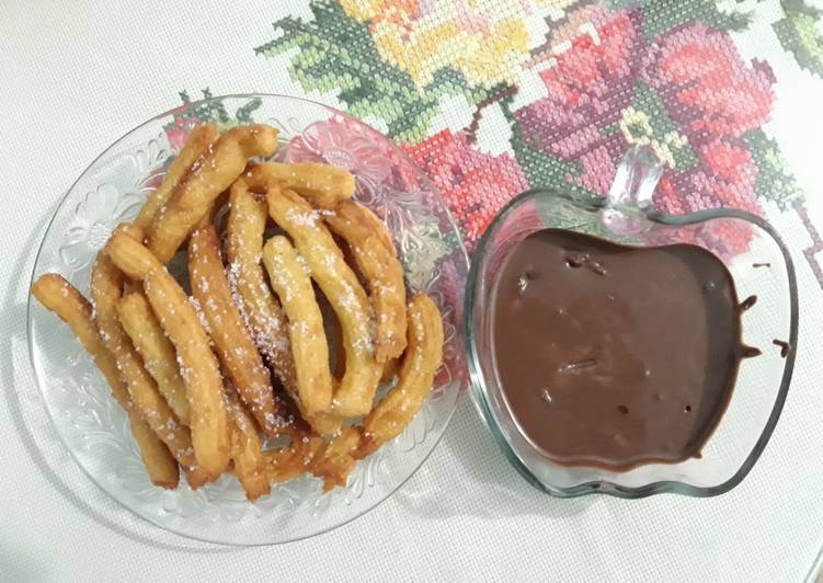Churros Mini Saus Coklat