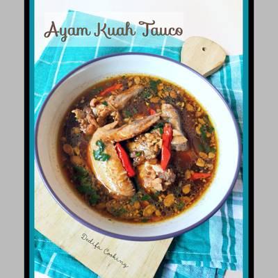 Resep Ayam Kuah Tauco Pedas Oleh Dedifa Cooking Cookpad