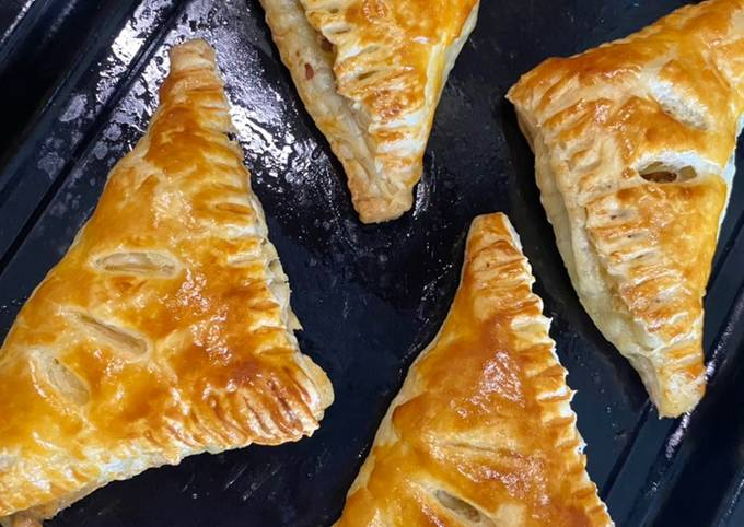 Beef & cheese puff pastry - projectfootsteps.org