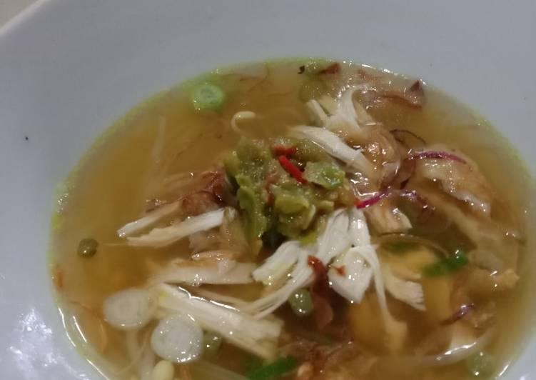 Resep Soto Ayam Bening yang Bikin Ngiler