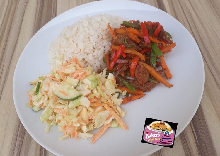 Beef and veggies stir fry, Helping Your To Be Healthy And Strong with Food