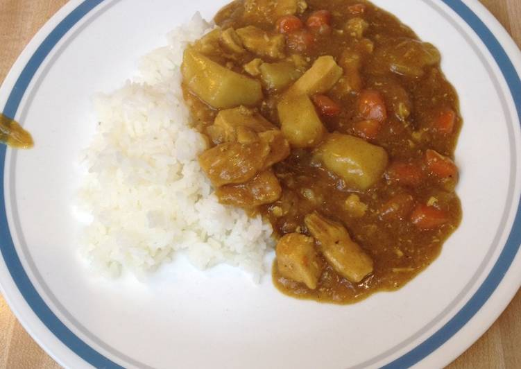 Recipe of Any-night-of-the-week Simple Chicken Curry