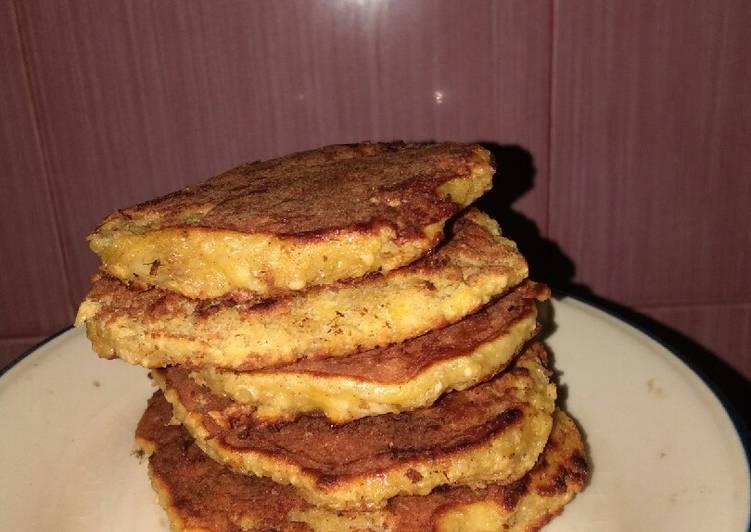 Resep Pancake Oatmeal Rendah Kalori Top