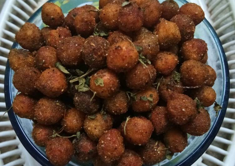 Easiest Way to Prepare Speedy Crunchy Spicy Chickpeas Snack