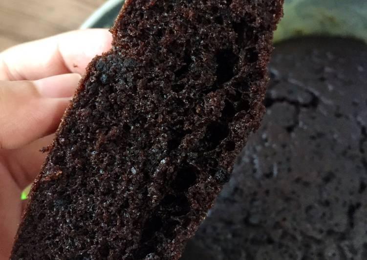 Bolu kukus coklat takaran sendok
