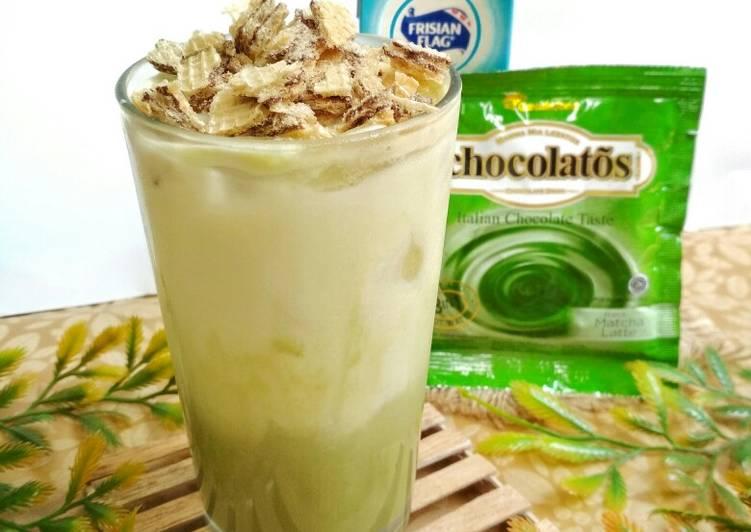 Ice Suca (Susu Matcha) 🍹