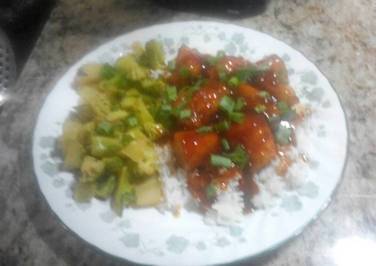 Recipe: Yummy General Tsao Chicken