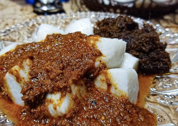 Resepi Kuah Kacang Nasi Impit