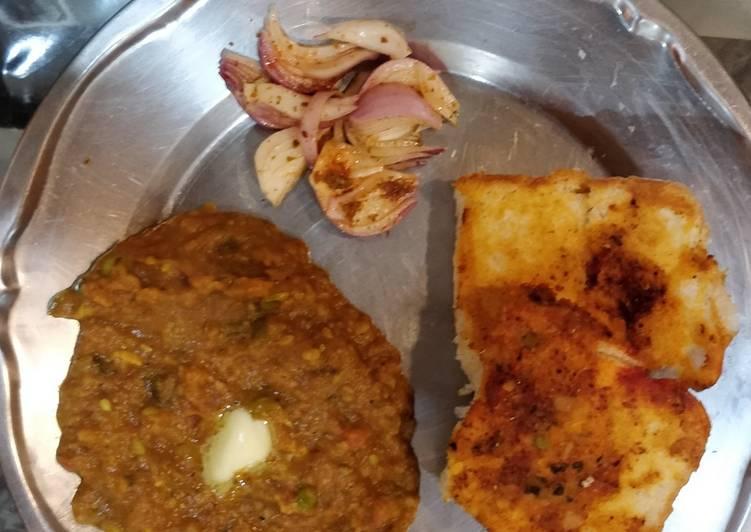 Recipe of Any-night-of-the-week Pav Bhaji