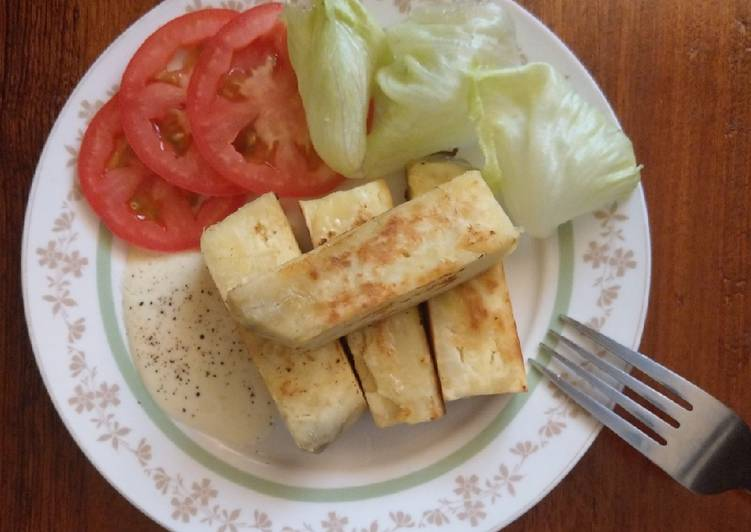 Roast sweet potatatoes