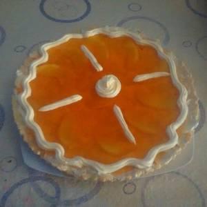 Tarta de gelatina de durazno!!