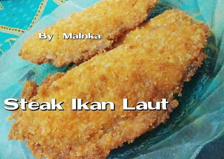 Steak Ikan (Katsu Ikan Laut)