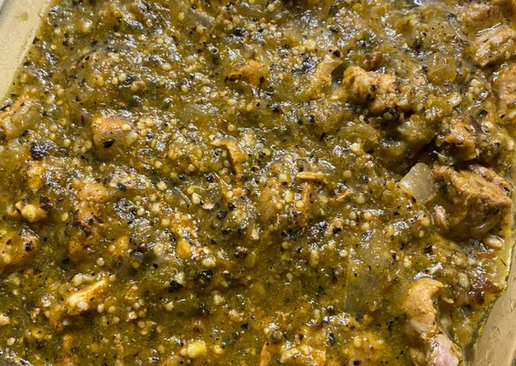 Steps to Make Ultimate Chef Miguel's Chili Verde