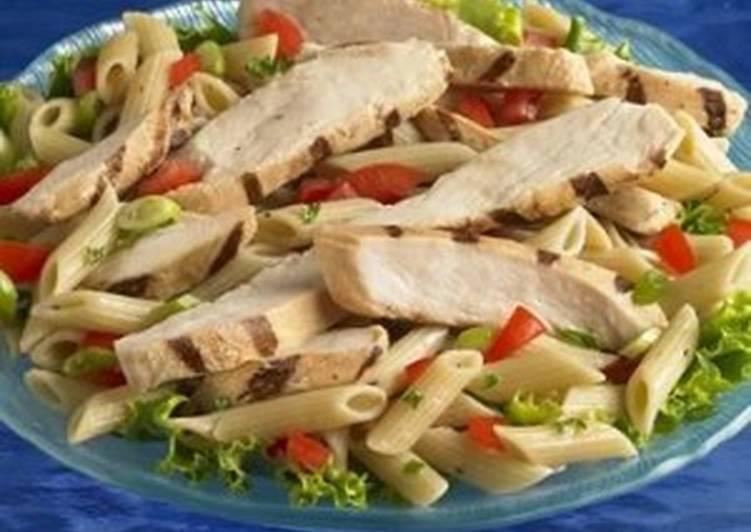 Salad Wednesday - Thai Chicken & Pasta Salad