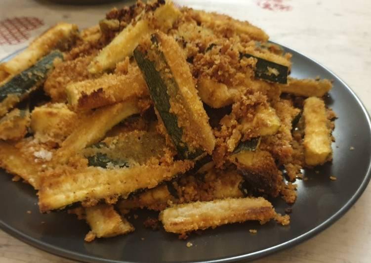 Zucchine gratinate al forno!