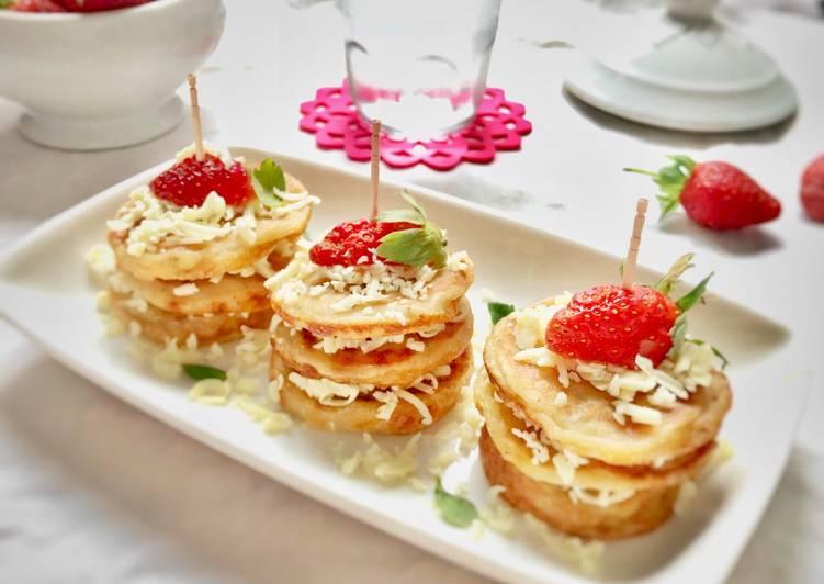 Pancake mini pisang, tanpa telur, tanpa BP a.k.a Lempeng Pisang (#pr_egglesscake)