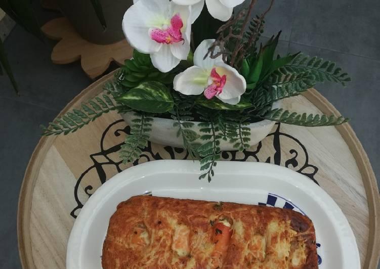 La Meilleur Recette De Cake moelleux au thon, et feuilles d'orties