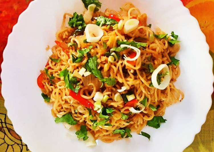 Street Style Veg Chowmein Recipe At Home