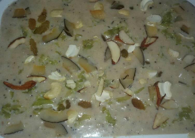 Recipe of Super Quick Homemade Brown bread & Lauki ice cream