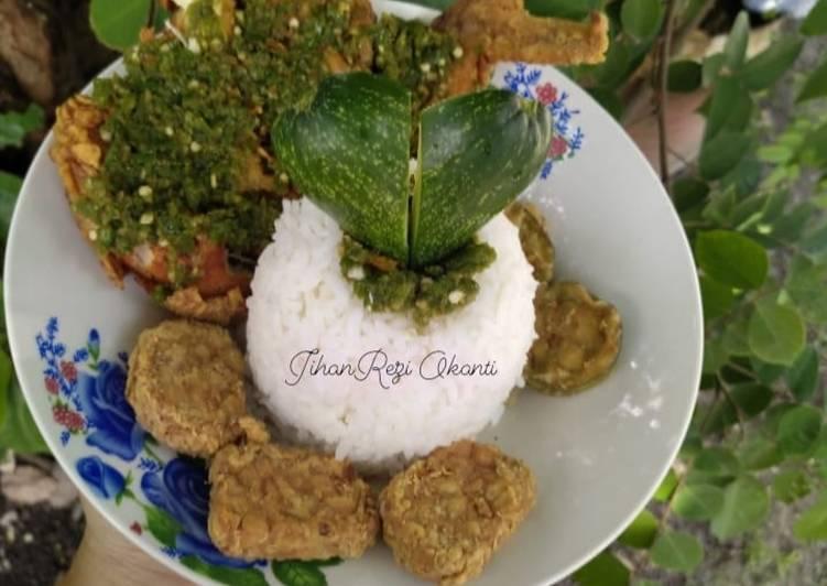 Ayam Geprek sambal Korek