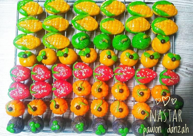 Nastar karakter buah - cookandrecipe.com