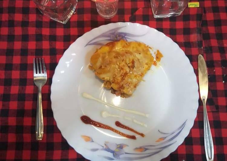 Recipe: Appetizing Veg lasagne