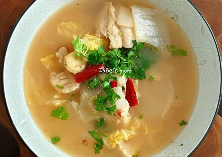 Sup Ikan Simpel