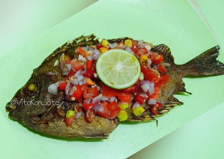 Ikan Baronang Sambal Dabu-Dabu