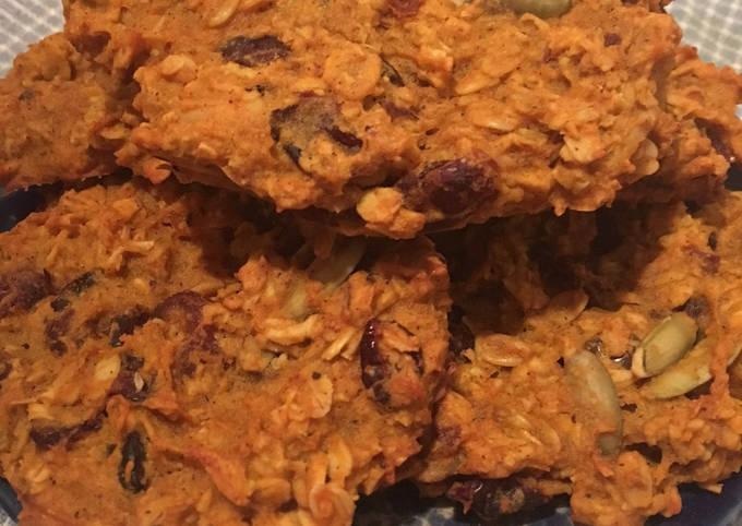 Oatmeal Cranberry Pumpkin Cookies