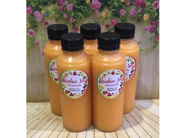 Diet Juice Apricot Passion Fruit Mango Orange Apple